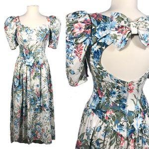 c6933f965c6a1 Women's Floral Vintage High Low Dress on Poshmark